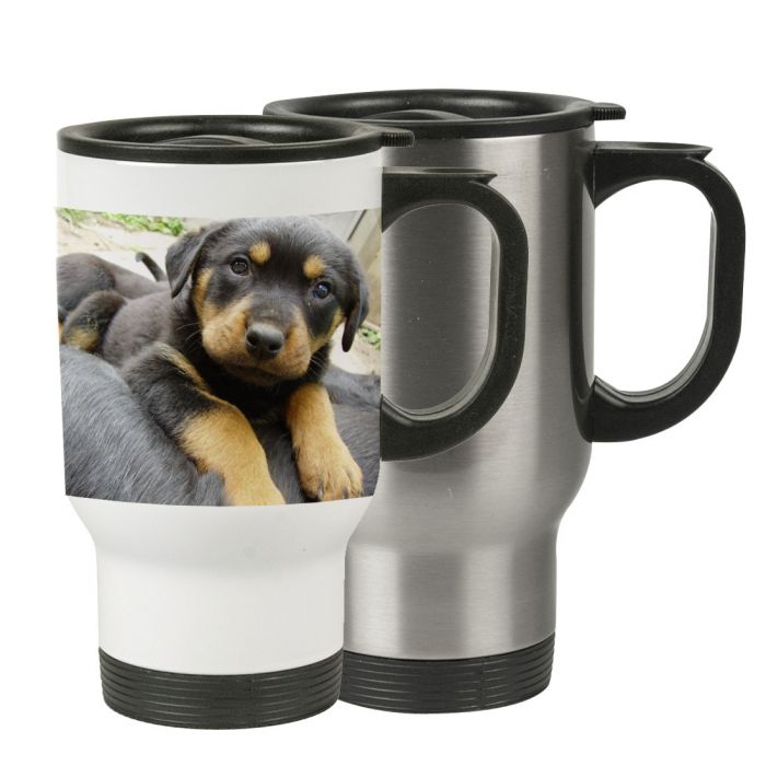 14oz Sublimatable Stainless Steel Travel Mugs